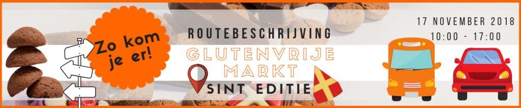 Bereikbaarheid Glutenvrije Markt Sint Editie op zaterdag 17 november 2018!