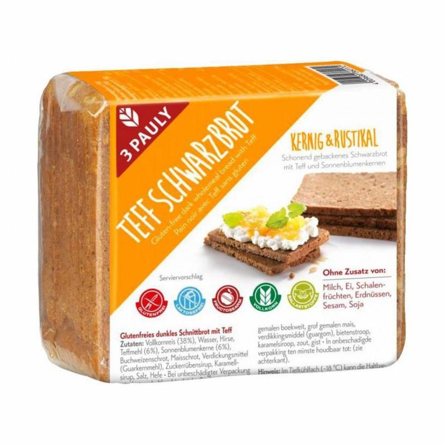 Donker Volkorenbrood met Teff