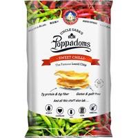 Poppadoms Sweet Chilli Lentil Chips Zakje