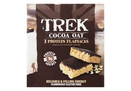 Trek Protein Flapjack Cocoa Oat 3-pack