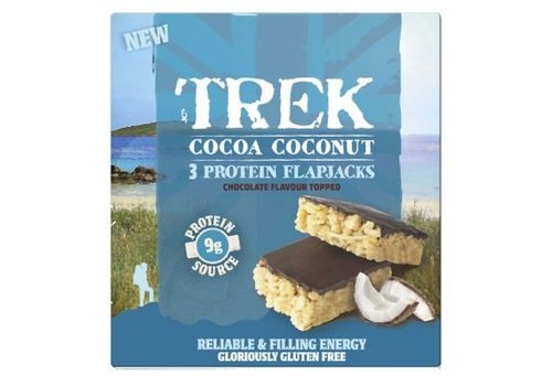 Trek Protein Flapjack Cocoa Coconut 3-pack (THT 16-4-2020)