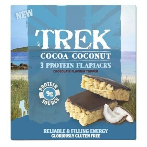 Trek Protein Flapjack Cocoa Coconut 3-pack