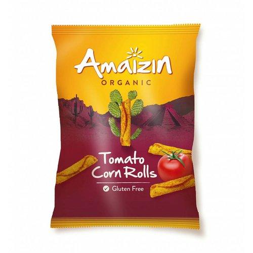 Amaizin Tomato Corn Rolls Biologisch (THT 24-12-2018)