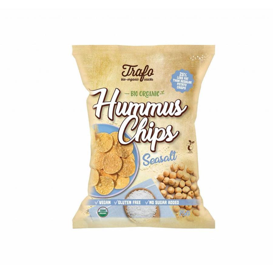Hummus Chips Seasalt Biologisch