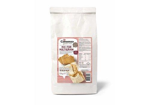 Consenza Broodmix Meergranen 5 Kilo