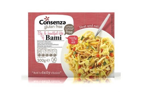Consenza Bami met Varkensvlees (THT 31-1-2021)