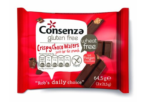 Consenza Crispy Choco Wafels