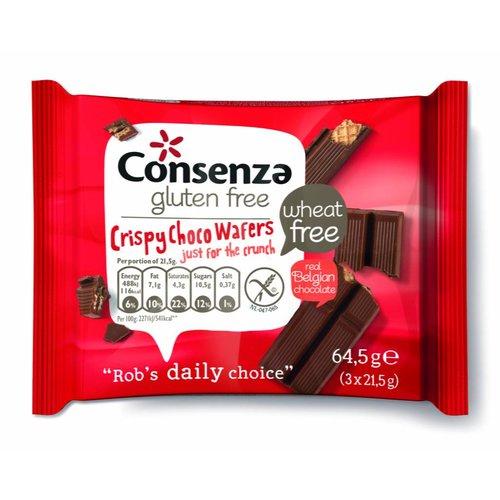 Consenza Crispy Choco Wafels (THT 01-04-2019)