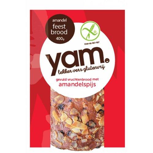 YAM Feestbrood Met Amandelspijs
