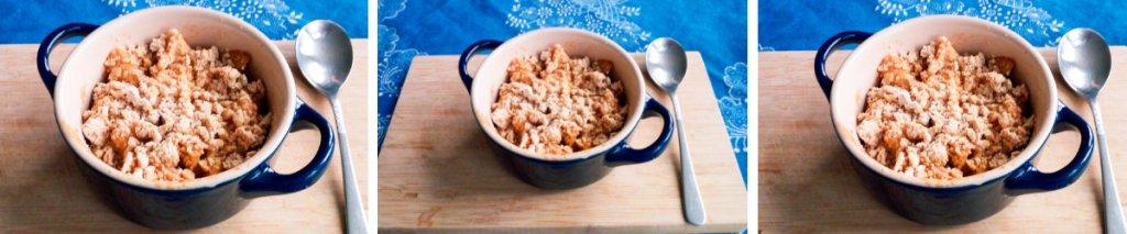 Recept: glutenvrij appelkruimeltaartje
