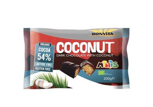 Bonvita Voordeelpak Mini's Puur Kokos Biologisch