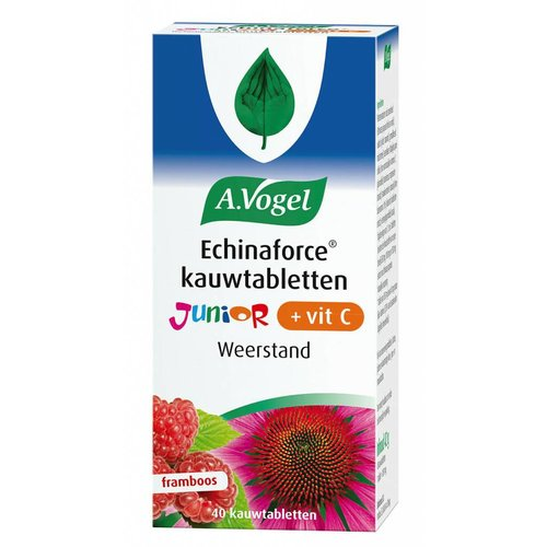 A. Vogel Echinaforce Kauwtabletten Junior + Vitamine C 40 Stuks