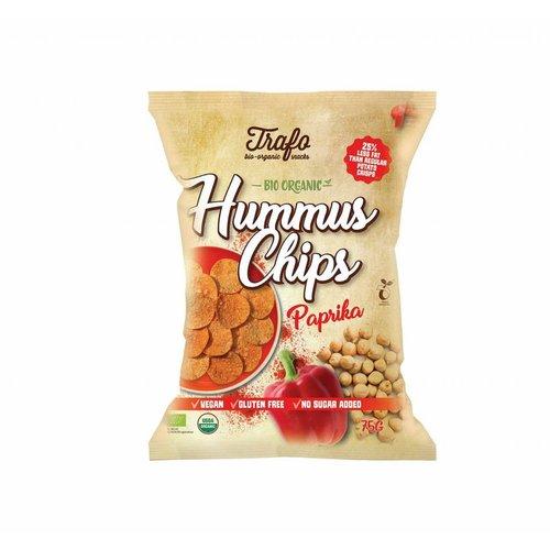 Trafo Hummus Chips Paprika Biologisch ( THT 09-02-2019)