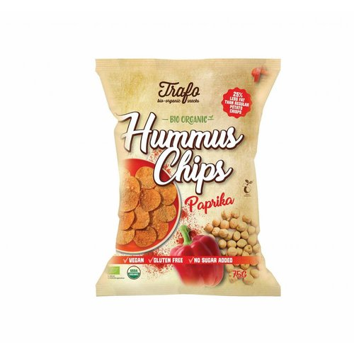 Trafo Hummus Chips Paprika Biologisch