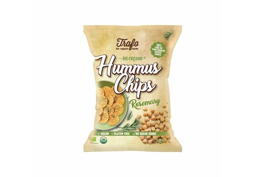 Trafo Hummus Chips Rozemarijn Biologisch