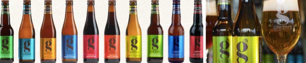 Nieuw! Glutenvrij bier en geschenkverpakkingen van Green's