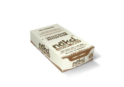 Nakd Cocoa Twist Bar Doos 18 stuks (THT 5-3-2020)