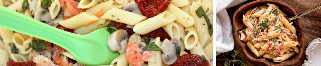 Glutenvrij recept met vis: glutenvrije pastasalade met zalm