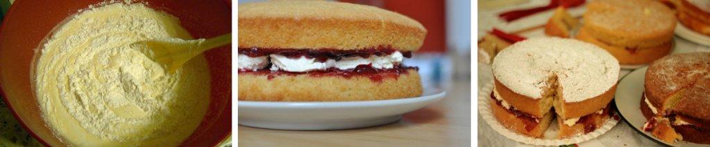 Recept: glutenvrije Victoria sponge cake