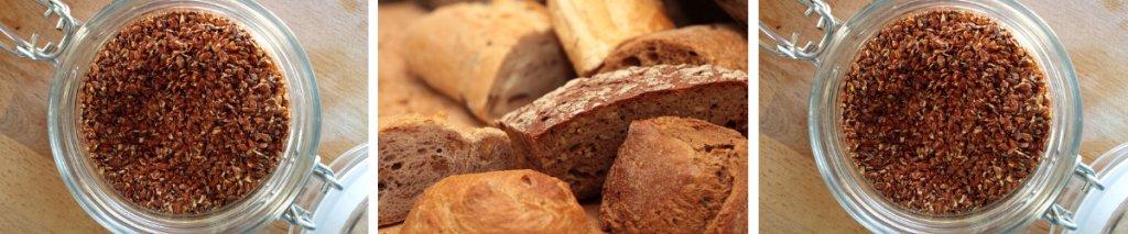 Recept: gezond glutenvrij brood met lijnzaad
