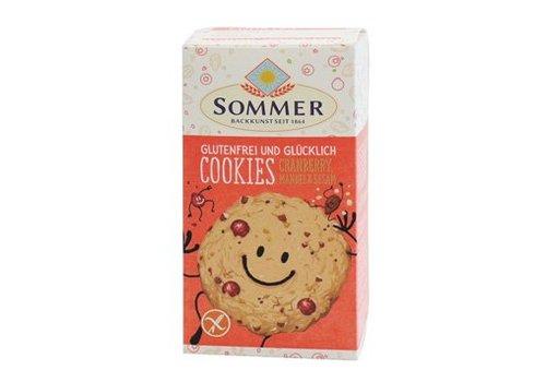 Sommer Cranberry Cookies Biologisch (6 stuks)
