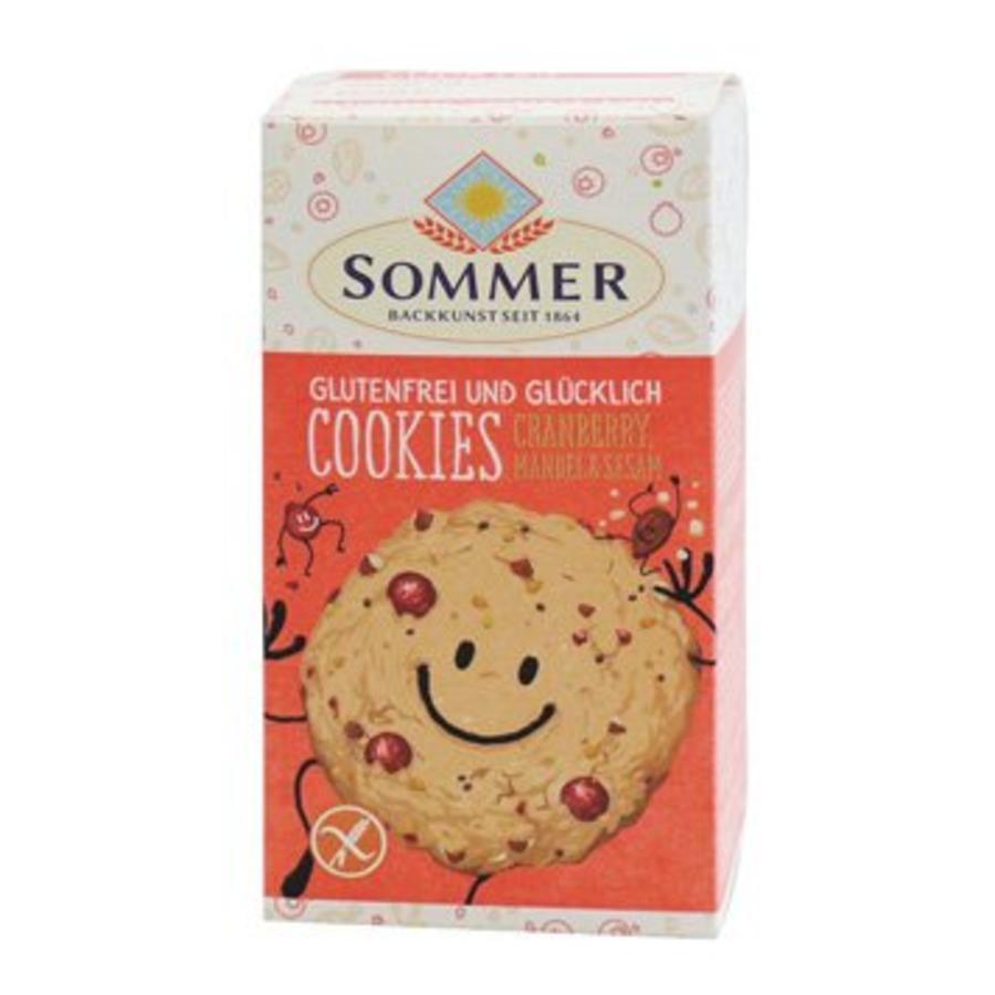 Cranberry Cookies Biologisch (6 stuks)