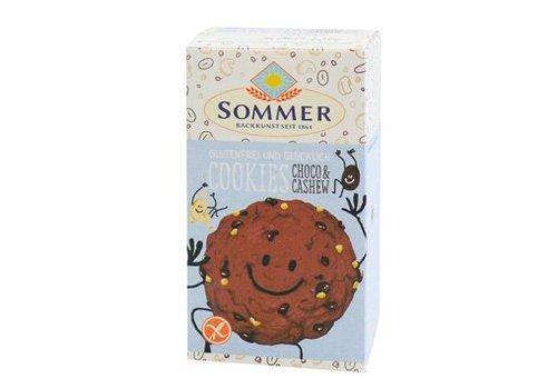 Sommer Choco Chip Cookies Biologisch (6 stuks)