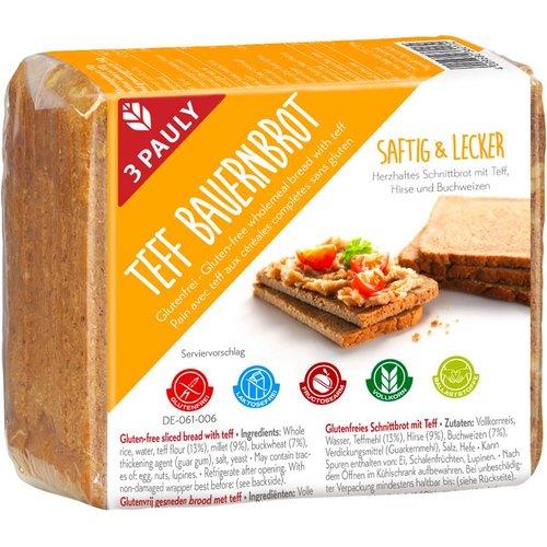 3Pauly Boerenbrood met Teff