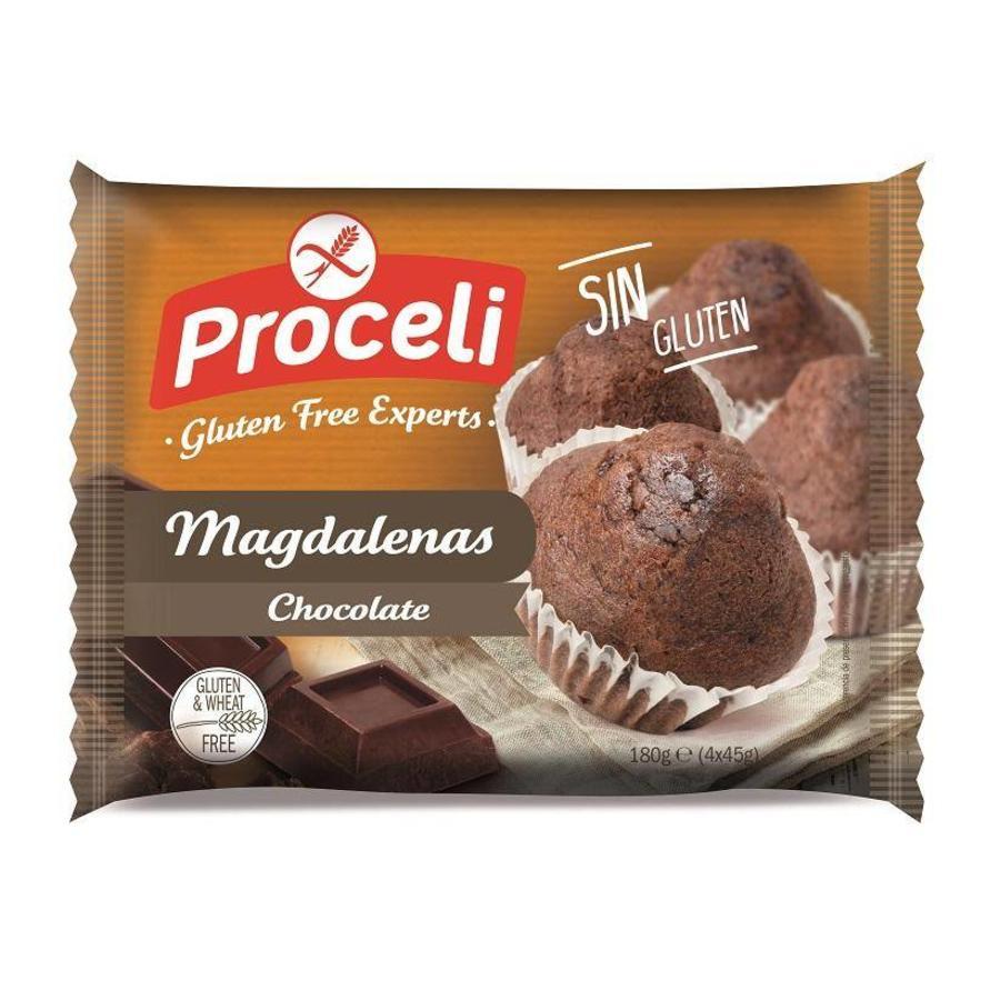 Chocolade Muffins (Magdalenas)