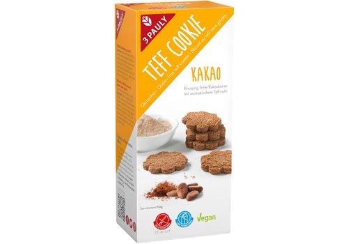 3Pauly Teff Koekjes Chocolade (THT 30-09-2019)