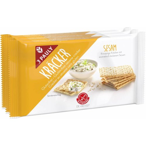 3Pauly Sesam Cracker 3-pack
