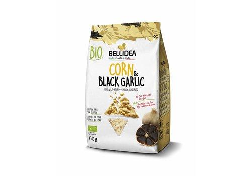 Bellidea Corn & Black Garlic Snack Biologisch (THT 23-11-2020)
