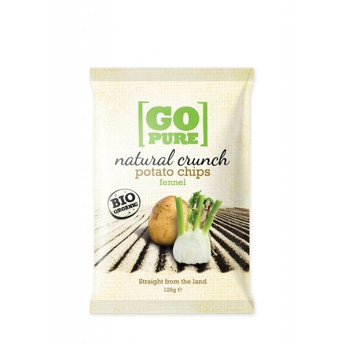 GoPure Potato Chips, Fennel Biologisch