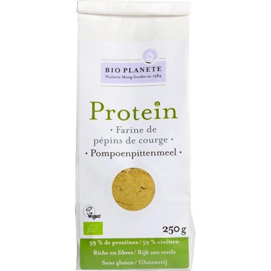 Protein Pompoenpittenmeel Biologisch (THT 5-2020)
