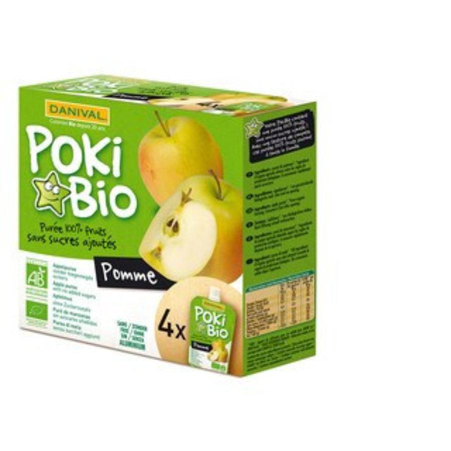 Knijpfruit Poki Bio appel