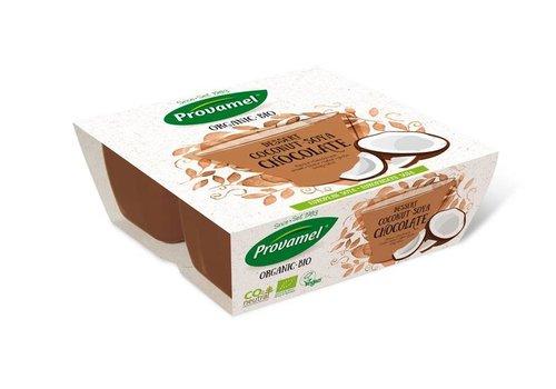 Provamel Kokosnoot Soja Dessert 4-pack Biologisch