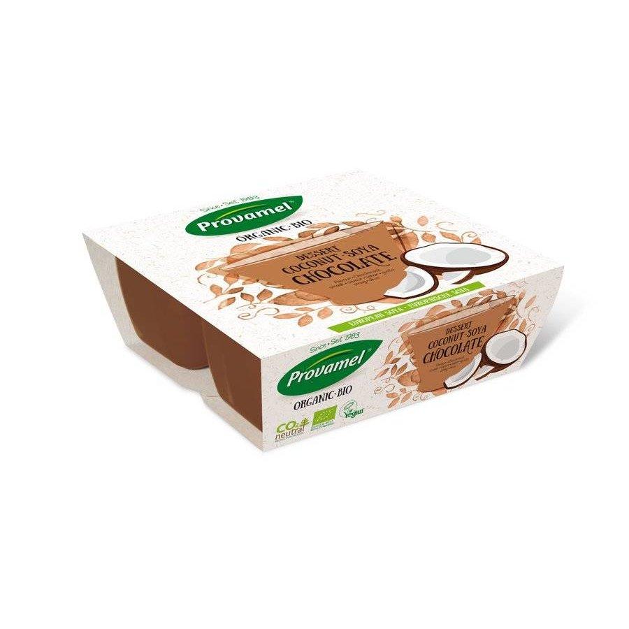 Kokosnoot Soja Dessert 4-pack Biologisch