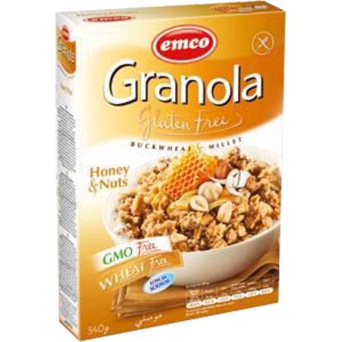 Emco Granola met Honing en Noten