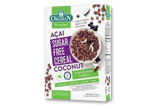 Orgran Sugar Free Cereal Acai Coconut