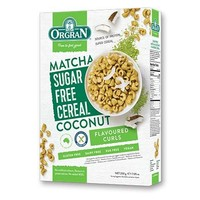 Sugar Free Cereal Matcha-Coconut