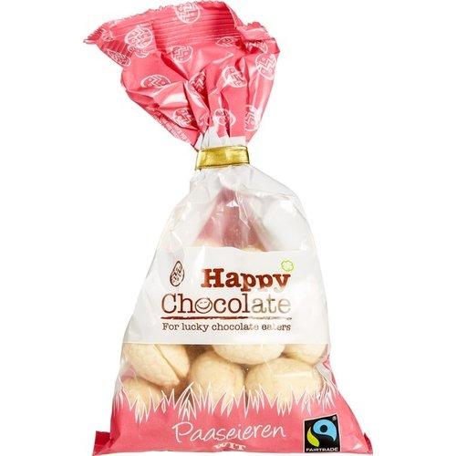 Happy Chocolate Paaseieren Wit Biologisch