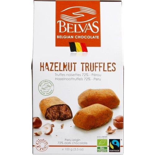Belvas Hazelnoot Truffels Biologisch
