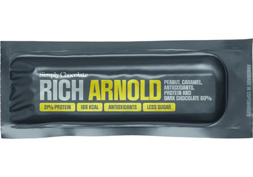 Simply Chocolate Rich Arnold met Pindakaas en Dark Chocolade