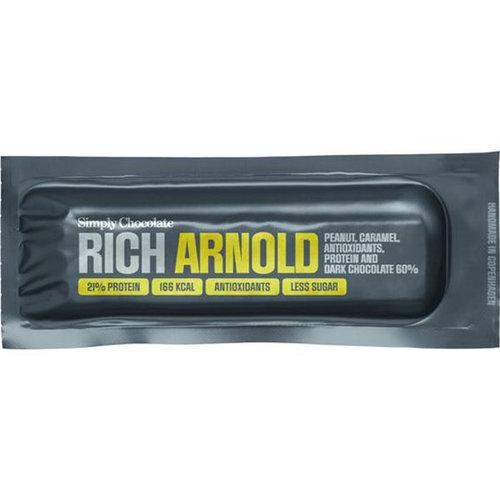 Simply Chocolate Rich Arnold met Pindakaas en Dark Chocolade