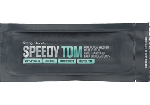 Simply Chocolate Speedy Tom Chocolade Met Proteïne