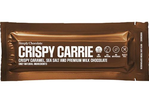 Simply Chocolate Crispy Carrie Karamel Zeezout Premium chocolade