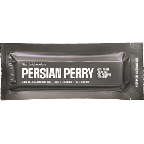 Simply Chocolate Persian Perry Drop Witte Chocolade