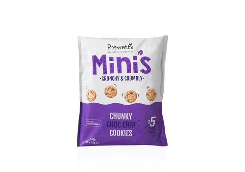 Prewetts Mini's Chunky Choc Chip Cookies (THT 20-05-2020)