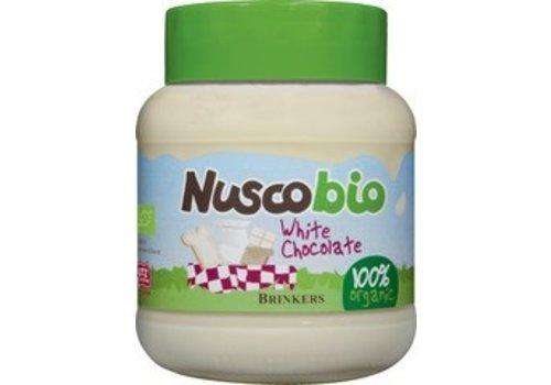 Brinkers Nuscobio Witte Chocoladepasta Biologisch