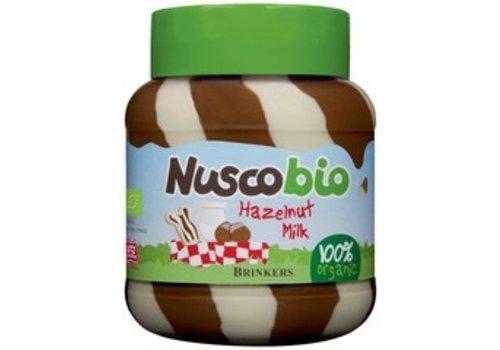 Brinkers Nuscobio Duo Hazelnootpasta Biologisch